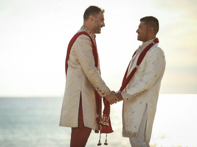 Il matrimonio di Manish e Angelo a Gallipoli, Lecce 35