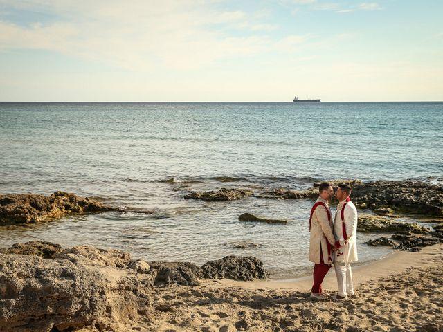 Il matrimonio di Manish e Angelo a Gallipoli, Lecce 37