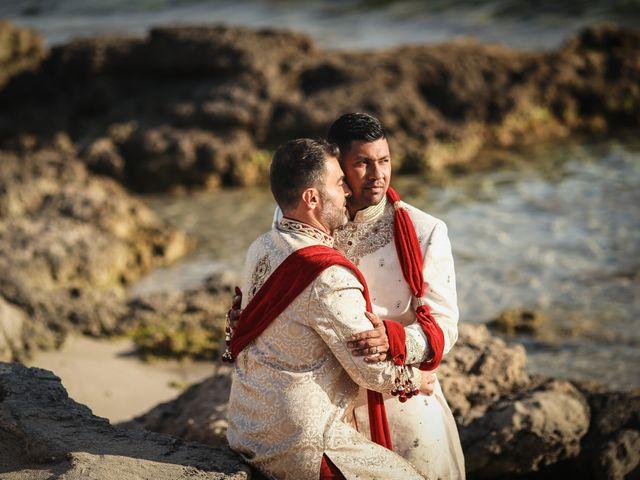 Il matrimonio di Manish e Angelo a Gallipoli, Lecce 38