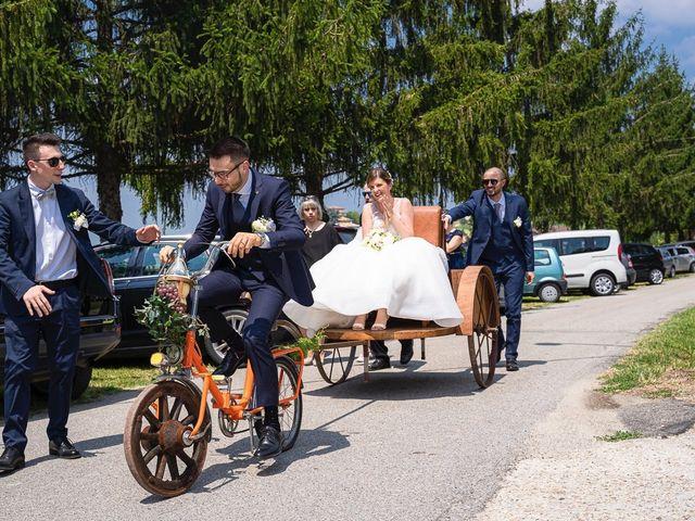 Il matrimonio di Gabriele e Debora a Benevello, Cuneo 25