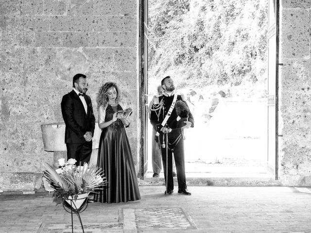 Il matrimonio di Raffaele e Maurizia a Castel Sant'Elia, Viterbo 25