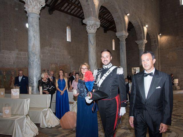 Il matrimonio di Raffaele e Maurizia a Castel Sant'Elia, Viterbo 28