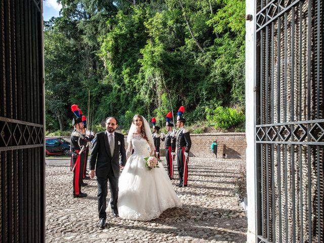 Il matrimonio di Raffaele e Maurizia a Castel Sant'Elia, Viterbo 30