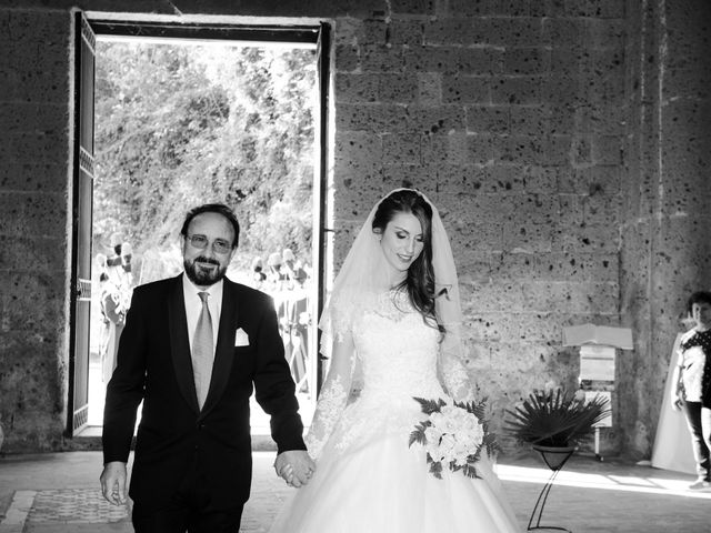 Il matrimonio di Raffaele e Maurizia a Castel Sant'Elia, Viterbo 31