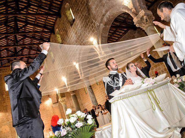 Il matrimonio di Raffaele e Maurizia a Castel Sant'Elia, Viterbo 35
