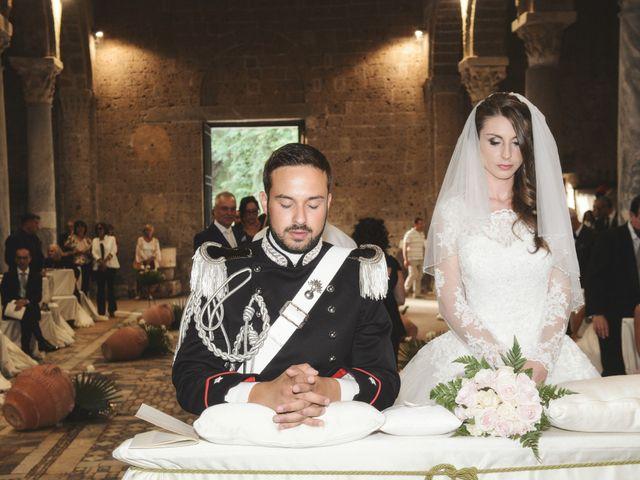Il matrimonio di Raffaele e Maurizia a Castel Sant'Elia, Viterbo 36
