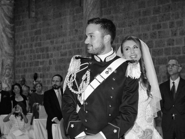 Il matrimonio di Raffaele e Maurizia a Castel Sant'Elia, Viterbo 37