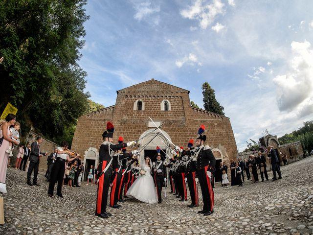 Il matrimonio di Raffaele e Maurizia a Castel Sant'Elia, Viterbo 39