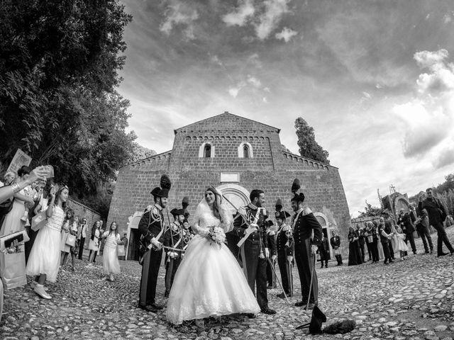 Il matrimonio di Raffaele e Maurizia a Castel Sant'Elia, Viterbo 41