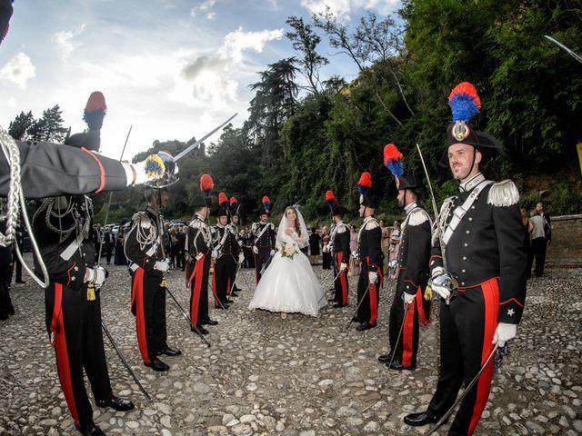 Il matrimonio di Raffaele e Maurizia a Castel Sant'Elia, Viterbo 42
