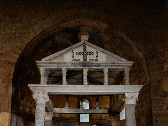 Il matrimonio di Raffaele e Maurizia a Castel Sant'Elia, Viterbo 43