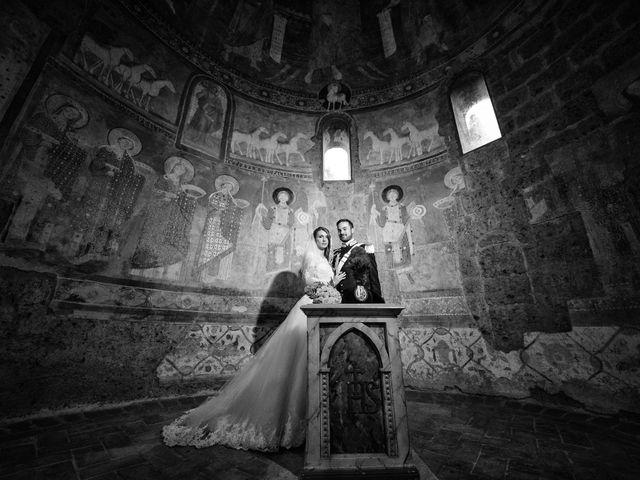 Il matrimonio di Raffaele e Maurizia a Castel Sant'Elia, Viterbo 44
