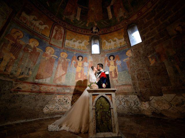 Il matrimonio di Raffaele e Maurizia a Castel Sant'Elia, Viterbo 45