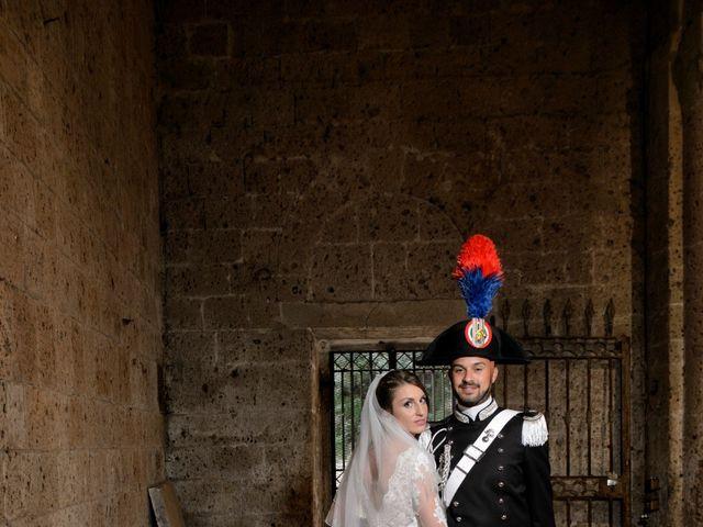 Il matrimonio di Raffaele e Maurizia a Castel Sant'Elia, Viterbo 47