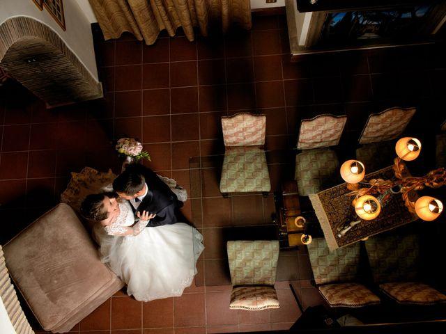 Il matrimonio di Raffaele e Maurizia a Castel Sant'Elia, Viterbo 54