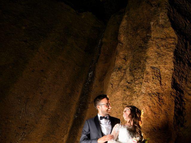 Il matrimonio di Raffaele e Maurizia a Castel Sant'Elia, Viterbo 56