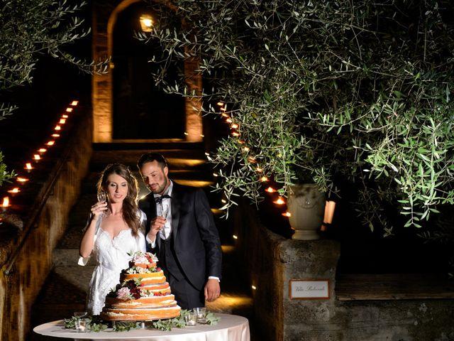 Il matrimonio di Raffaele e Maurizia a Castel Sant'Elia, Viterbo 71