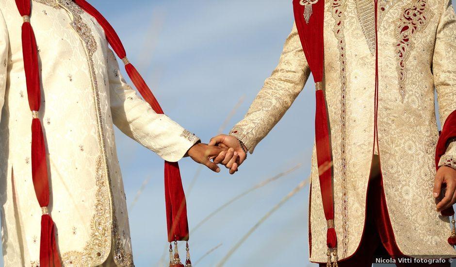 Il matrimonio di Manish e Angelo a Gallipoli, Lecce