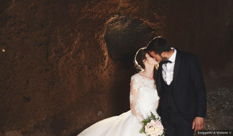 Il matrimonio di Raffaele e Maurizia a Castel Sant'Elia, Viterbo