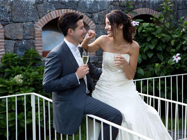 le nozze di Letizia e Eugenio
