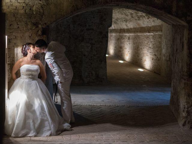 le nozze di Elisa e Adriano
