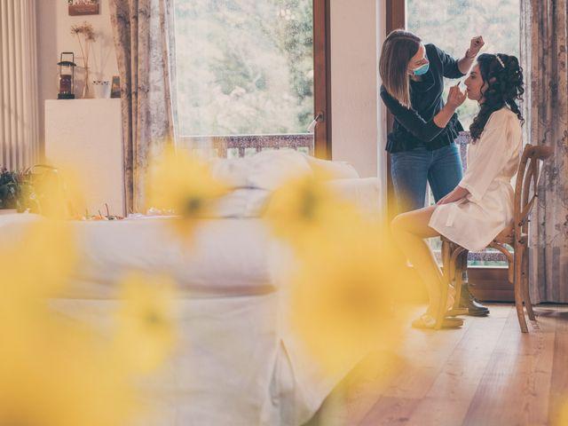 Il matrimonio di Wolfgang e Federica a Zambana, Trento 12