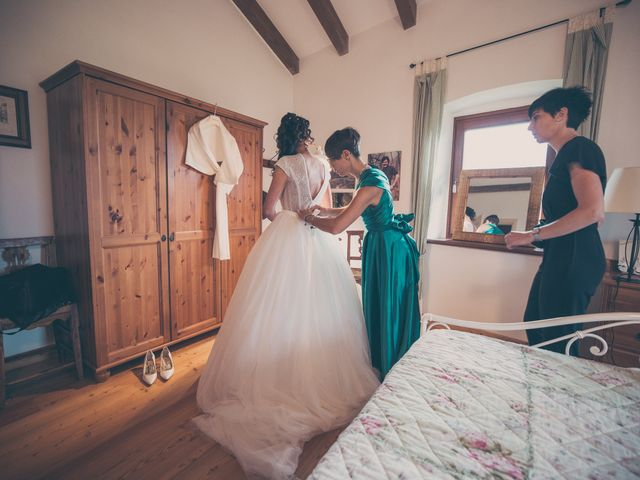 Il matrimonio di Wolfgang e Federica a Zambana, Trento 13