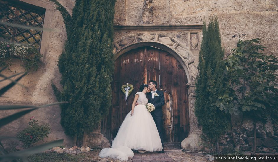 Il matrimonio di Wolfgang e Federica a Zambana, Trento