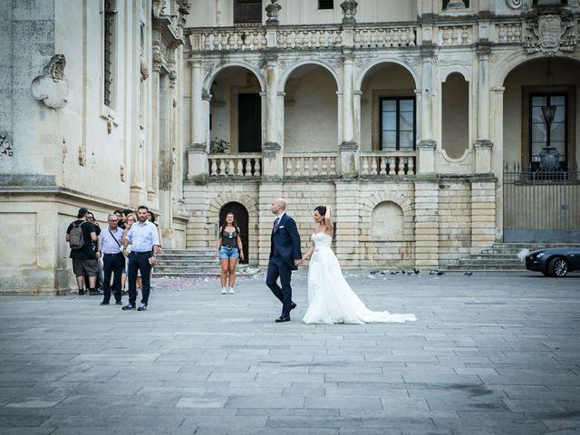 Il matrimonio di Giuseppe e Imma a Lecce, Lecce 55