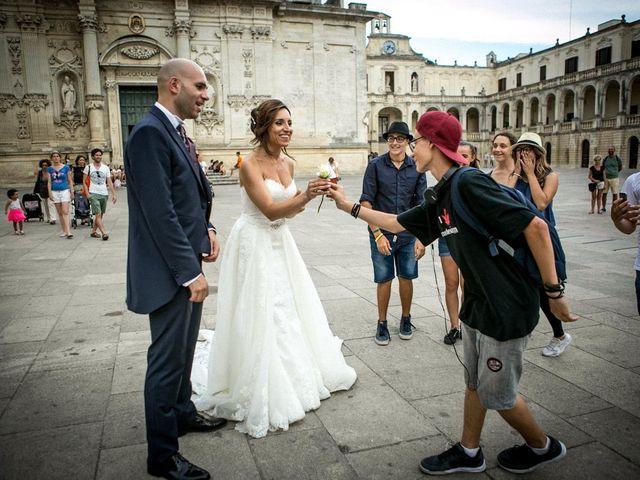 Il matrimonio di Giuseppe e Imma a Lecce, Lecce 56