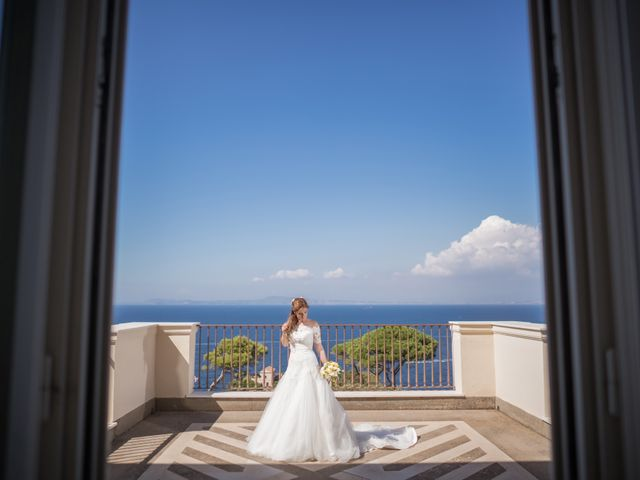 Il matrimonio di Alessandro e Angela a Sorrento, Napoli 9