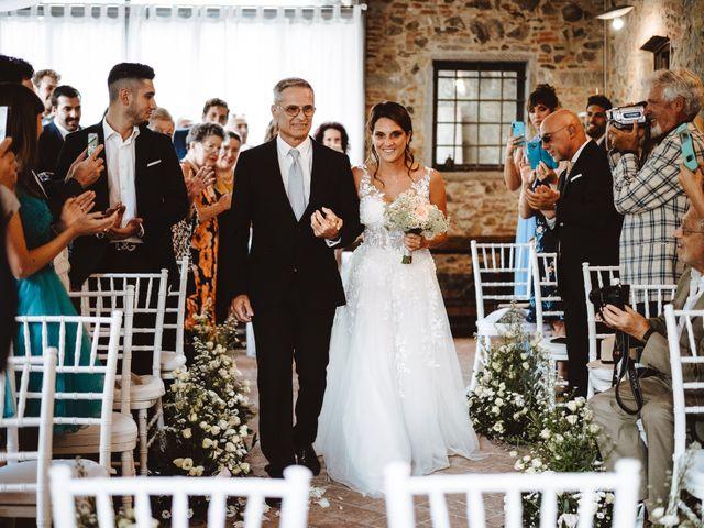 Il matrimonio di Lorenzo e Federica a Carmignano, Prato 10