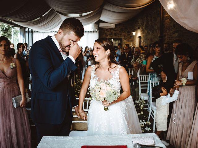 Il matrimonio di Lorenzo e Federica a Carmignano, Prato 11