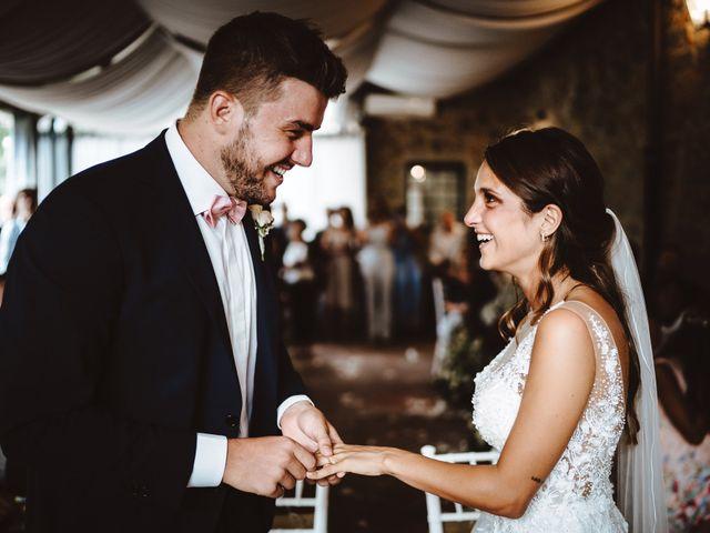 Il matrimonio di Lorenzo e Federica a Carmignano, Prato 18