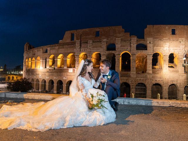 Il matrimonio di Vincenzo e Silvia a Roma, Roma 35