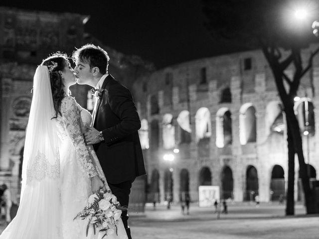Il matrimonio di Vincenzo e Silvia a Roma, Roma 1