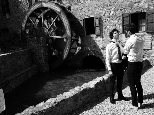 Il matrimonio di Alberto e Maia a Chiusdino, Siena 2