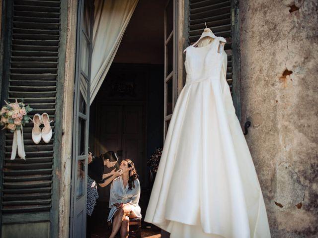 Il matrimonio di Stefano e Caterina a San Sebastiano da Po, Torino 1