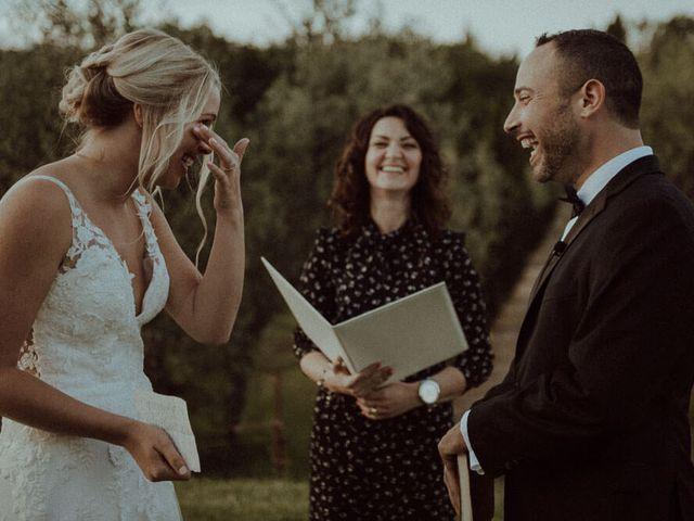 Le nozze di Nicole e Jeremy