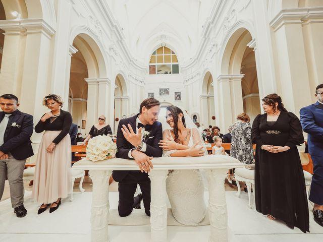 Il matrimonio di Jenny e Fabio a Muro Leccese, Lecce 20