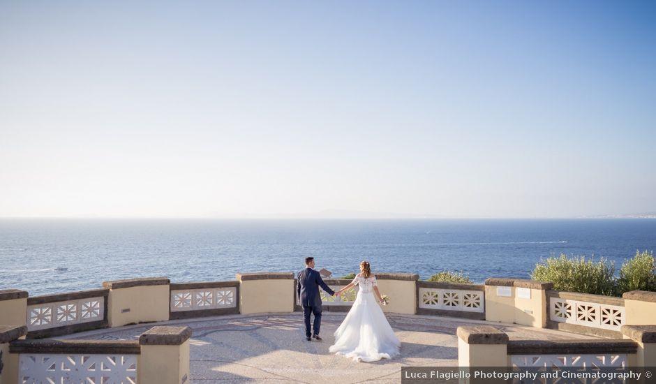 Il matrimonio di Alessandro e Angela a Sorrento, Napoli