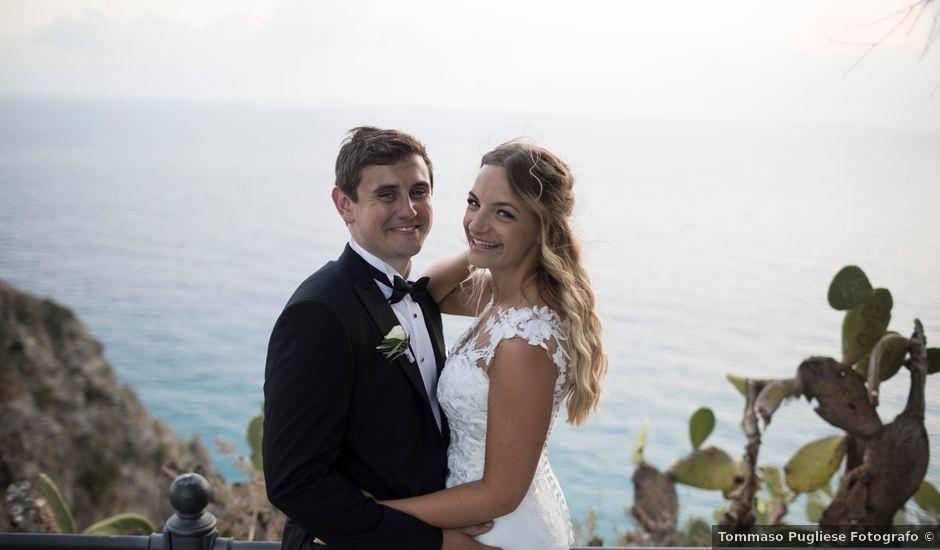 Il matrimonio di Anthony e Katie a Ricadi, Vibo Valentia