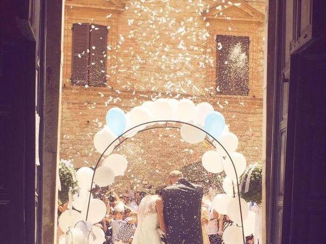 Il matrimonio di Elena e Marco a Penna San Giovanni, Macerata 3