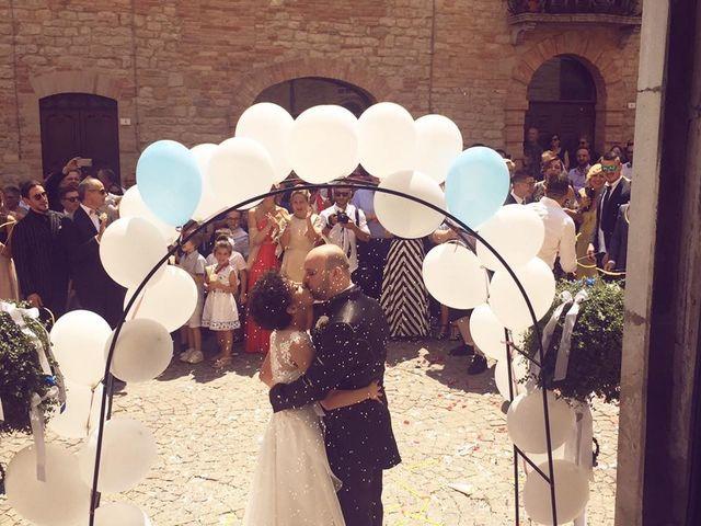 Il matrimonio di Elena e Marco a Penna San Giovanni, Macerata 5
