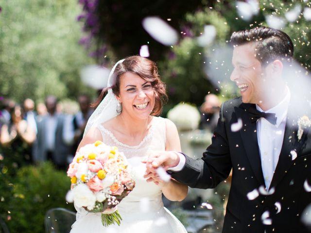 Le nozze di Massimiliano e Giorgia