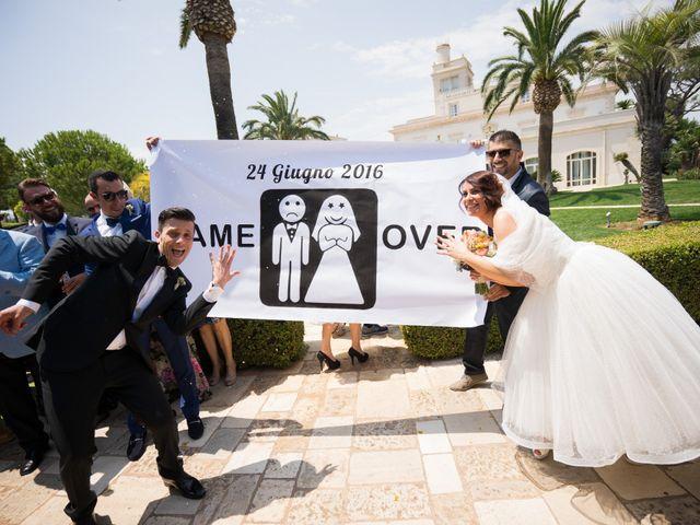 Il matrimonio di Giorgia e Massimiliano a Polignano a Mare, Bari 36