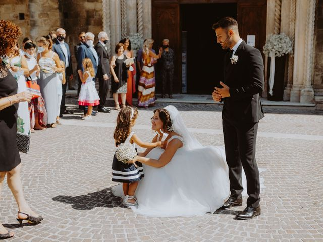 Il matrimonio di Andrea e Beatrice a Atri, Teramo 103