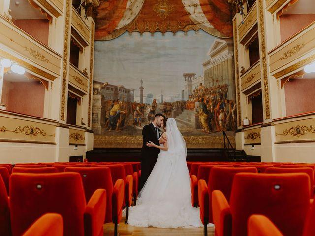 Il matrimonio di Andrea e Beatrice a Atri, Teramo 107