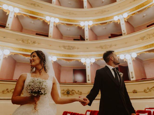 Il matrimonio di Andrea e Beatrice a Atri, Teramo 110