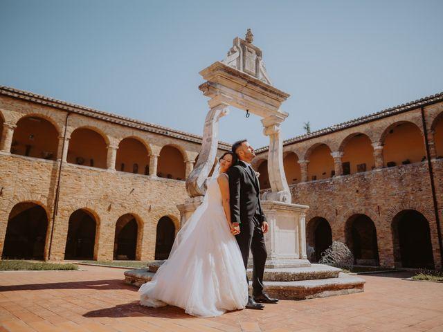 Il matrimonio di Andrea e Beatrice a Atri, Teramo 117
